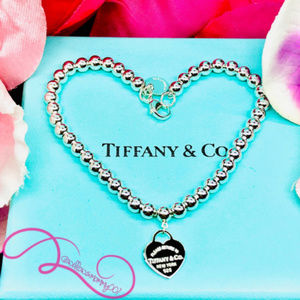 NWOT T&Co. Return to Tiffany Bead Bracelet, 7""